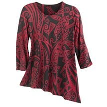 Mystery Graphics Tunic
