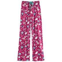 Winter Whimsy Jersey Knit Lounge Pants