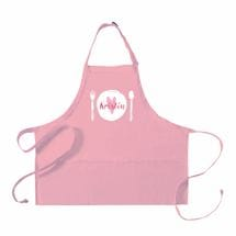 "Personalized Adult's ""Place Setting"" Apron"