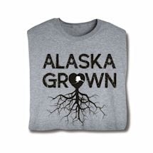 """Homegrown"" T-Shirt - Choose Your State - Alaska"