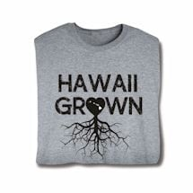 """Homegrown"" T-Shirt - Choose Your State - Hawaii"