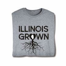 """Homegrown"" T-Shirt - Choose Your State - Illinois"