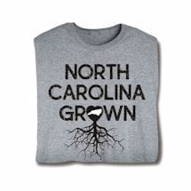 """Homegrown"" T-Shirt - Choose Your State - North Carolina"