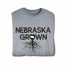"""Homegrown"" T-Shirt - Choose Your State - Nebraska"