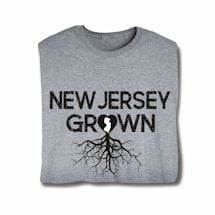 """Homegrown"" T-Shirt - Choose Your State - New Jersey"