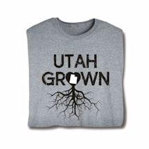 """Homegrown"" T-Shirt - Choose Your State - Utah"