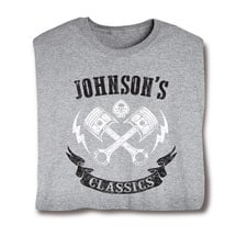 """Personalized """"Your Name"""" Classic Motors Tee"""