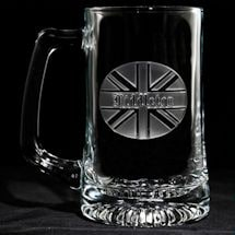 Personalized British Pride Beer Mug