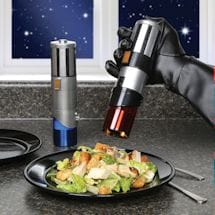 Star Wars Lightsaber Salt & Pepper Grinders & Shakers