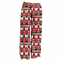 Deadpool Taco All Over Men's Faces Polyester Lounge & Sleep Pants