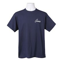 Chevy Camaro American Originals T-Shirt - Front Back Print - Navy Blue