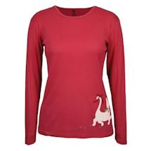 Christmas Cat Long Sleeve T-Shirt