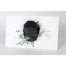 Lump of Coal Christmas Card