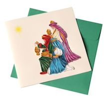 Three Wise Men Quilling Card