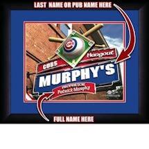 Personalized MLB Pub Print