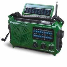 Solar-Powered Emergency Radio: Green