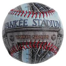 COMMEMORATIVE BASEBALL - NEW YANKEE STADIUM