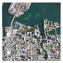 Personalized Aerial Photo Satellite Image Canvas Print