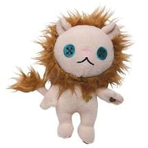 THE WIZARD OF OZ BUTTON-EYE MINI PLUSH - COWARDLY LION