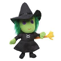 THE WIZARD OF OZ BUTTON-EYE MINI PLUSH - WICKED WITCH