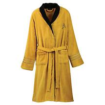 STAR TREK BATHROBE - KIRK/YELLOW