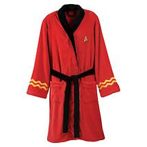 STAR TREK BATHROBE - SCOTTY/RED