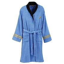 STAR TREK BATHROBE - SPOCK/BLUE