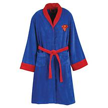 DC COMIC BATHROBE - SUPERMAN