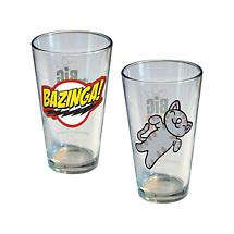 BIG BANG THEORY PINT GLASSES (SET OF 2)