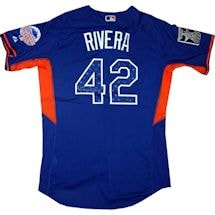 Mariano Rivera Signed 2013 All Star Game Blue Jersey Limited Edition Mo Retirement Patch