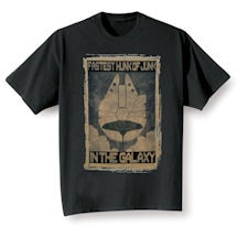 Star Wars Propoganda Poster T-Shirts - Fastest Hunk of Junk