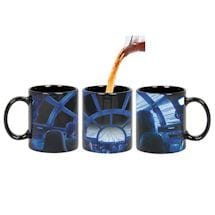 Star Wars Rey & Chewie Millennium Falcon Cockpit Hyperspace Heat Changing Coffee Mug