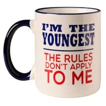 I'm The Youngest Child Mug