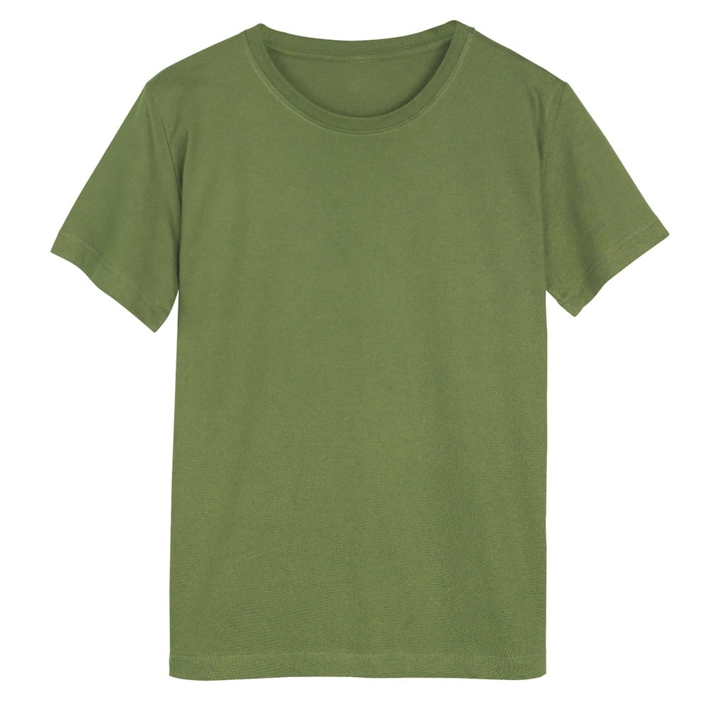 Women 39 S Olive Green Ladies T Shirt Short Sleeve Crew