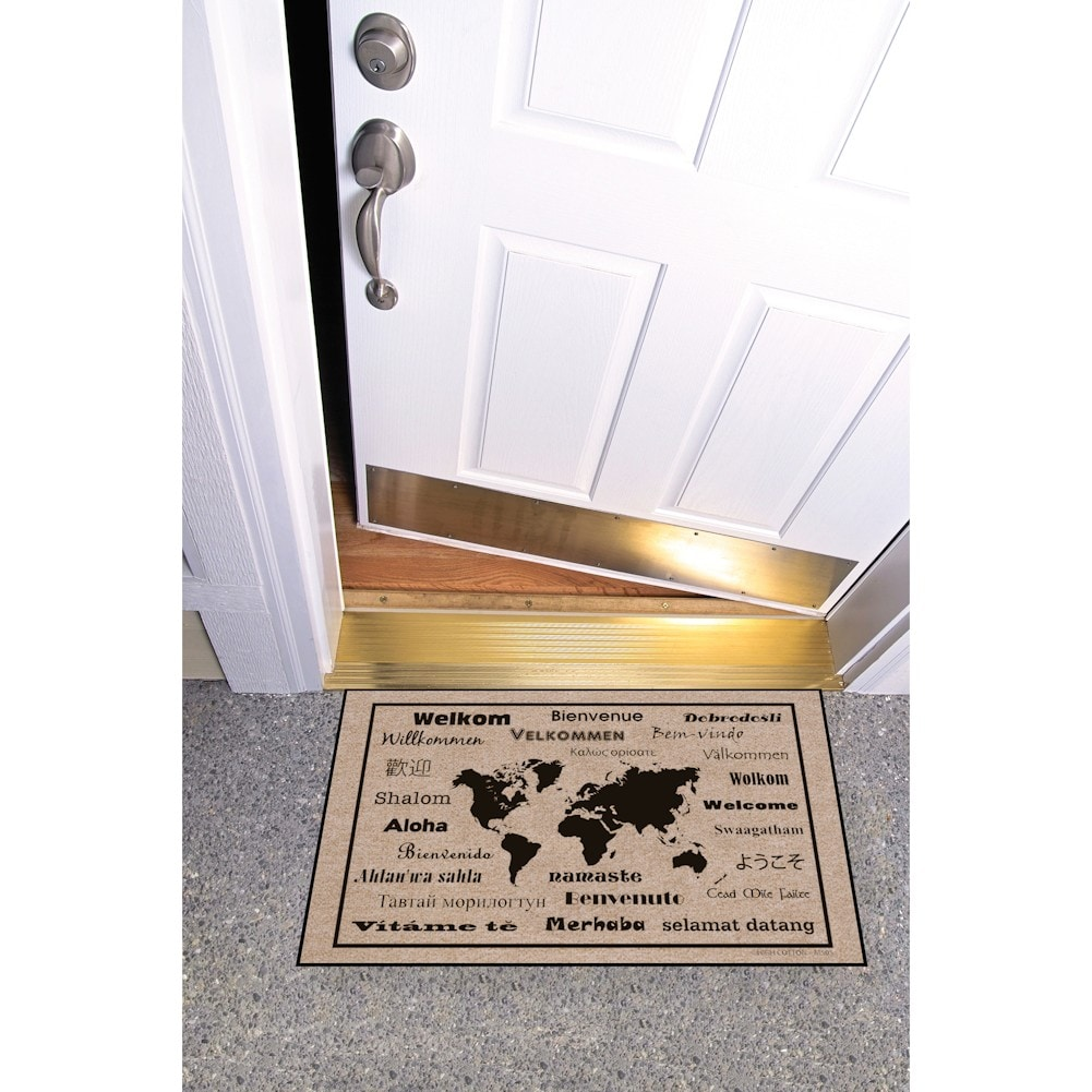 high cotton welcome doormats