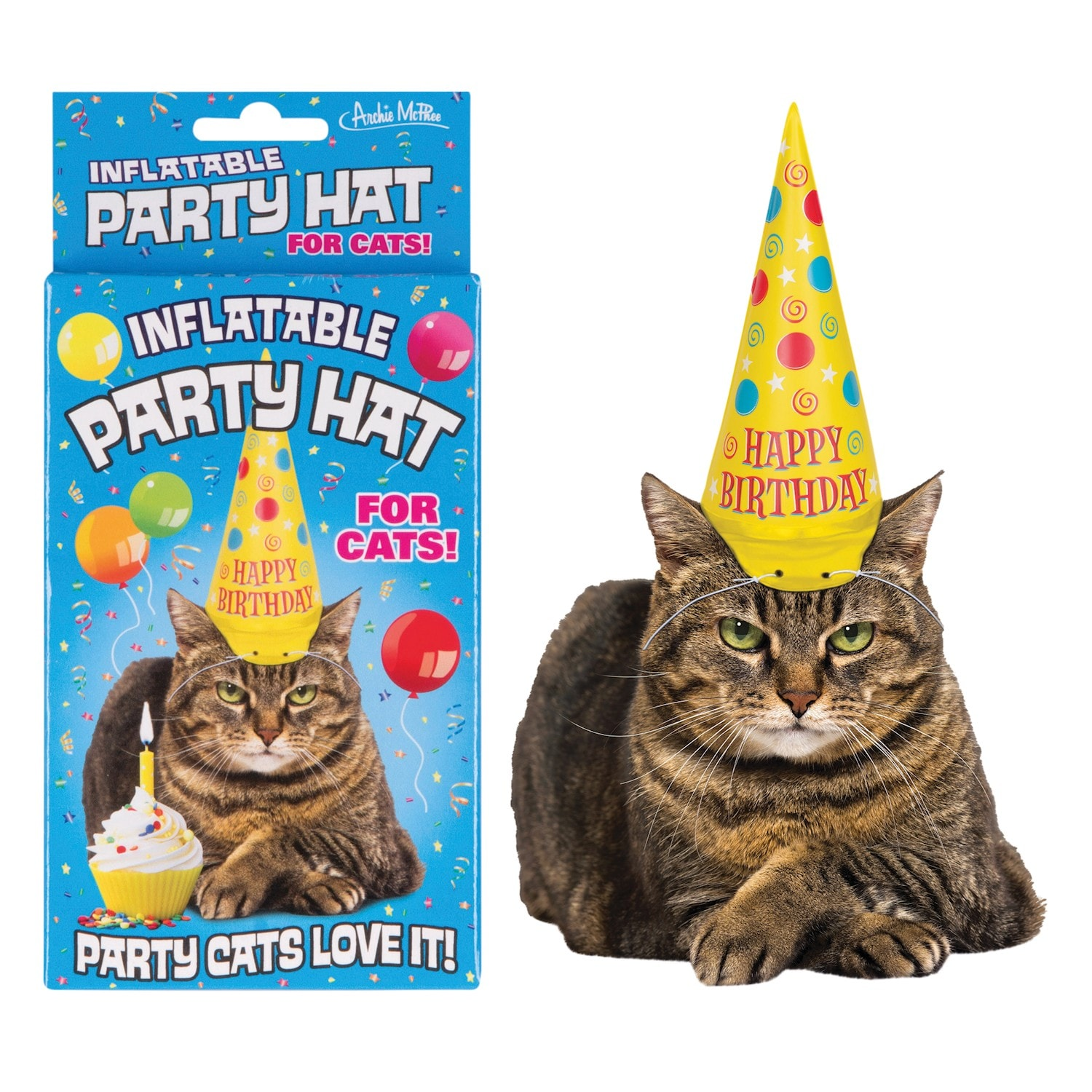 Accoutrements Cat Hat Inflatable Party For Your
